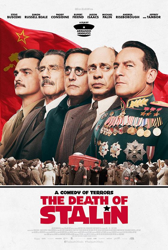 Death of Staline affiche officielle Main Journey